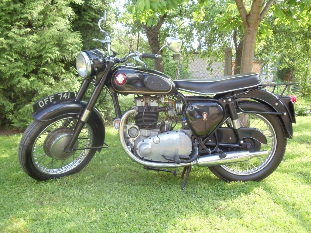BSA A10 Golden Flash r.v.1955 s TP